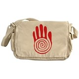Sacred Hand in Red - Messenger Bag