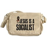 Jesus is a Socialist Messenger Bag