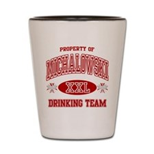 Michalowski Polish Drinking Team Shot Glass