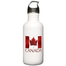 Canada Flag Sports Water Bottle