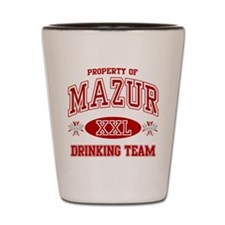Mazur Polish Drinking Team Shot Glass