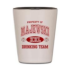 Majewski Polish Drinking Team Shot Glass