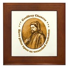 Chaucer Framed Tile