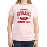 Kowalski Polish Drinking Team T-Shirt