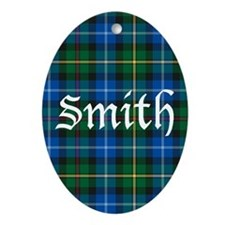 Tartan - Smith Ornament (Oval)