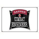 US Army Combat Engineer Sappe Banner