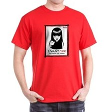 I Want You Dark T-Shirt