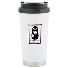 I Want You Ceramic Travel Mug