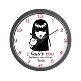 I Want You Wall Clock