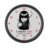 I Want You Large Wall Clock