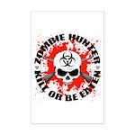 Zombie Hunter 1 Mini Poster Print