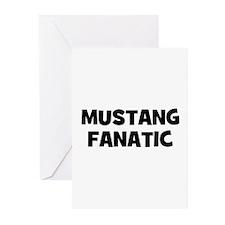 Mustang Fanatic Greeting Cards (Pk of 10)