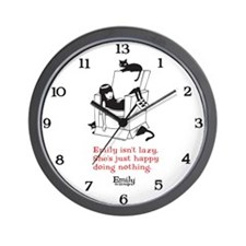 Lazy Wall Clock