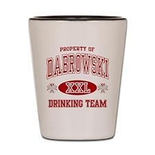 Dabrowski Polish Drinking Team Shot Glass