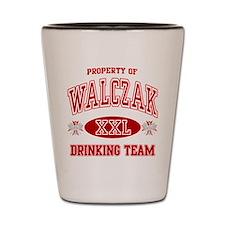 Walczak Polish Drinking Team Shot Glass