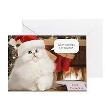 Cookies for Santa Christmas Card