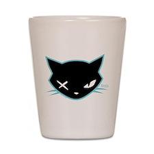 Cathead Miles Shot Glass
