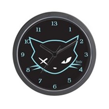 Cathead Miles Wall Clock