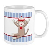 Sock Monkeys Small Mug