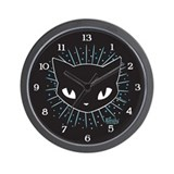 Cathead Mystery Burst Wall Clock
