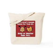 Too Few Homes Spay & Neuter Tote Bag