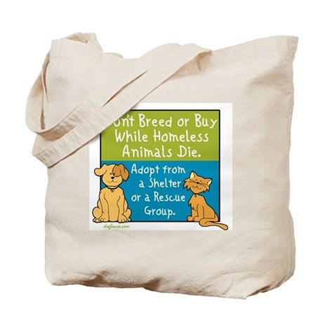 Adopt Shelter Rescue Tote Bag