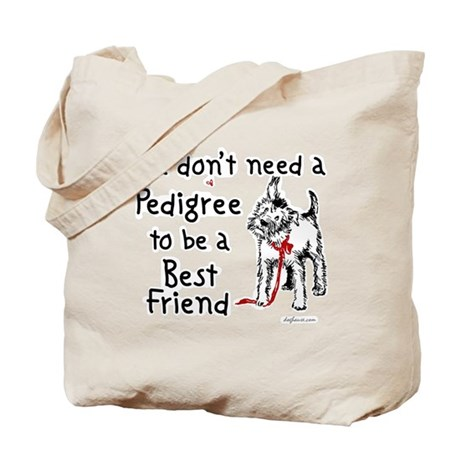 No Pedigree Needed Tote Bag