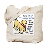 Four Feet (Dog) Tote Bag
