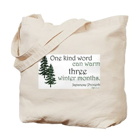 Kind Word Tote Bag