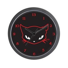 Cathead Sabbath Wall Clock