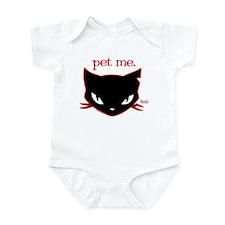 Sabbath - Pet Me Infant Bodysuit