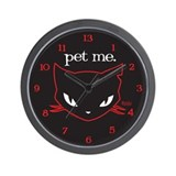 Sabbath - Pet Me Wall Clock