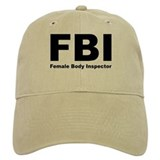 FBI Female Body Inspector Cap
