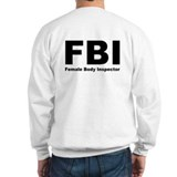 FBI Female Body Inspector Jumper