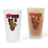 Loved by a Chesapeake Bay Ret Drinking Glass