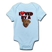 Loved by a Chesapeake Bay Ret Infant Bodysuit