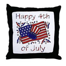 4th of July Celebration Throw Pillow