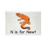 N is for Newt Rectangle Magnet (100 pack)