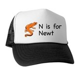 N is for Newt Trucker Hat