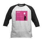 iPolka Parody Kids Baseball Jersey (Pink Version)