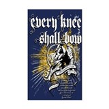 Every Knee Shall Bow Decal