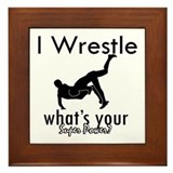 Wrestling Framed Tiles
