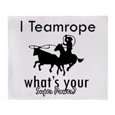 I Teamrope Throw Blanket