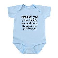Brooklyn is the Boss Infant Bodysuit