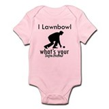 I Lawnbowl Infant Bodysuit