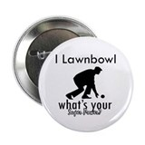 "I Lawnbowl 2.25"" Button (10 pack)"