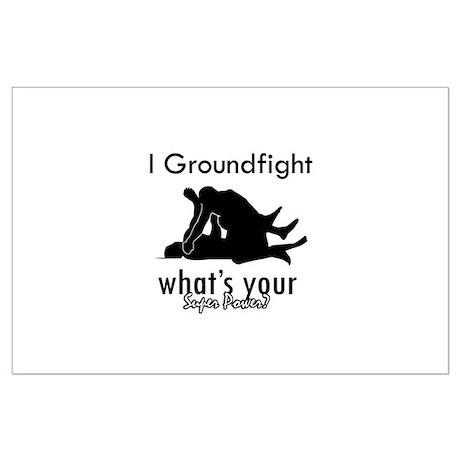 I Groundfight Large Poster
