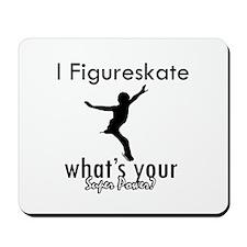 I Figure Skate Mousepad