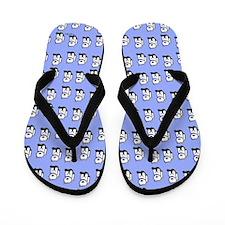 Westie Waggle Flip Flops