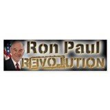 Ron Paul REVOLUTION - Car Sticker